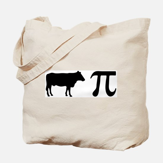 Cow Pi (pie) Tote Bag