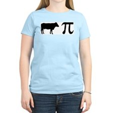 Cow Pi (pie) Women's Pink T-Shirt