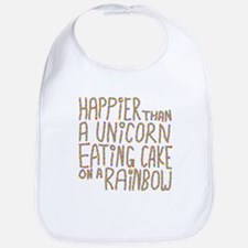 Happier Than A Unicorn... Bib