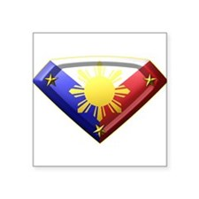 Super Pinoy Rectangle Sticker