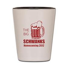Beer Mug Red Shot Glass