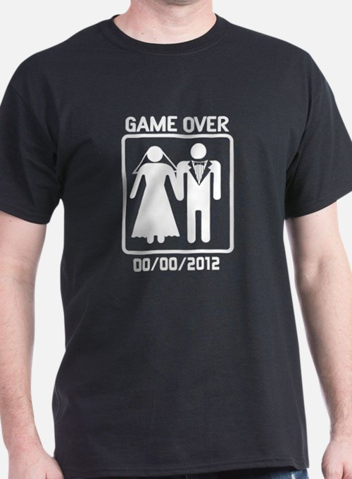 Game Over Wedding T Shirts Shirts Tees Custom Game