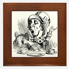 Mad Hatter Framed Tile