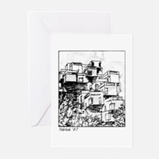 Moshe Safdie Habitat 67 Greeting Cards (10 Pk)
