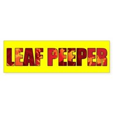 Leaf Peeper Bumper Sticker