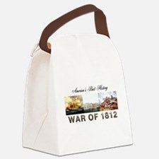 War of 1812 Canvas Lunch Bag