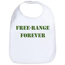 FREE-RANGE FORVER ARMY GREEN Bib