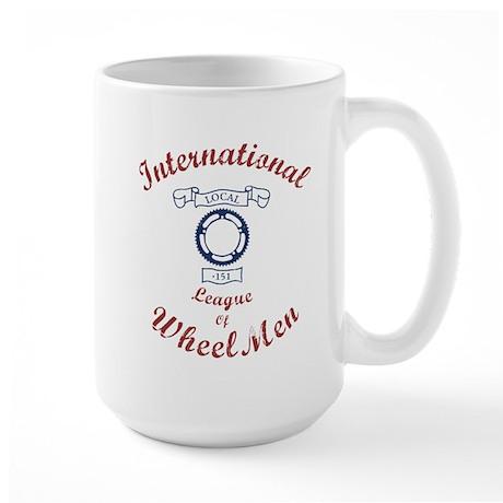 International League of Wheel Men Large Mug