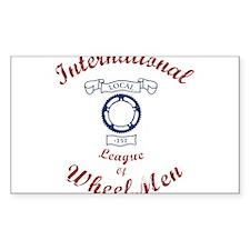 International League of Wheel Men Decal