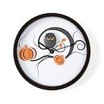 Whimsical Halloween Wall Clock