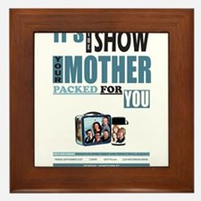 The Show Your Mom Packed Framed Tile