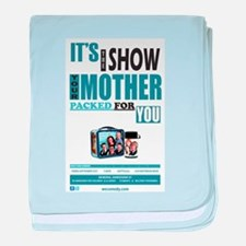 The Show Your Mom Packed baby blanket