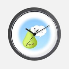 Pear Pressure Wall Clock