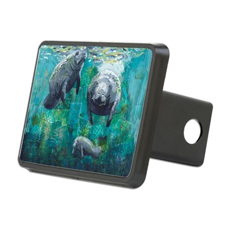 Three Sisters Rectangular Hitch Cover