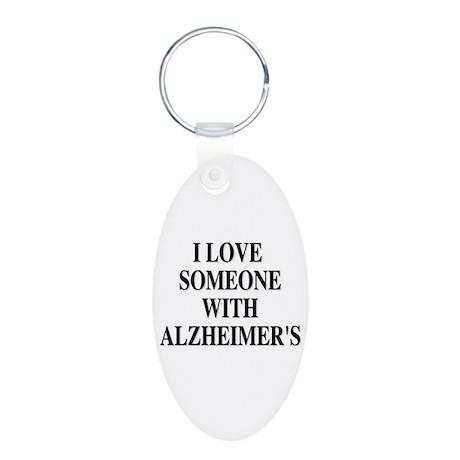 Alzheimer's Keyring