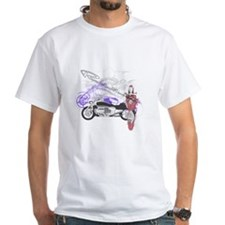 Rune Graphic Montage on T-Shirt