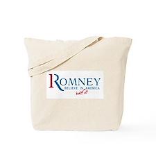 Romney: Believe in Half of America Tote Bag