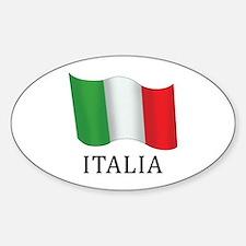 Italia Flag Decal