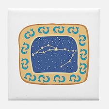 Pisces Constellation Tile Coaster