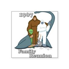 1967 Family Reunion Rectangle Sticker
