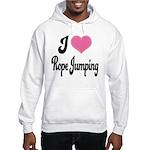 I Love Rope Jumping Hooded Sweatshirt