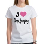 I Love Rope Jumping Women's T-Shirt