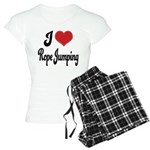I Love Rope Jumping Women's Light Pajamas