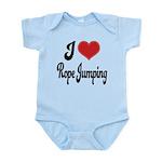 I Love Rope Jumping Infant Bodysuit