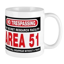 area 51large Mugs