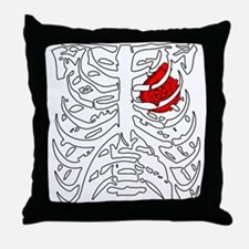 Boosted Heart Throw Pillow