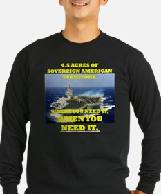Aircraft Carrier Long Sleeve T-Shirt
