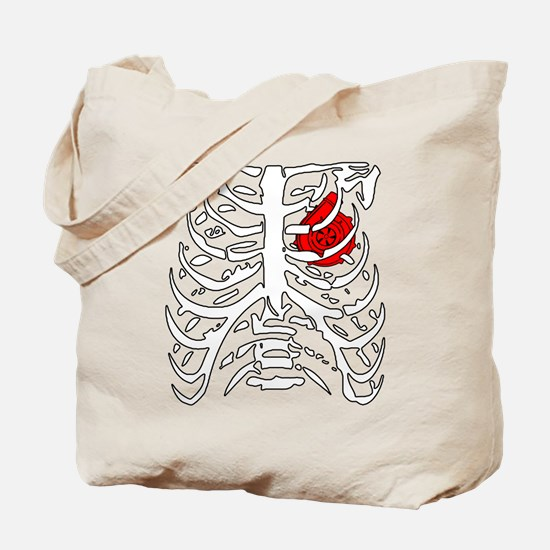 Boosted Heart Tote Bag