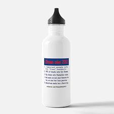 ObamaWins2012 Water Bottle