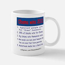 ObamaWins2012 Mug