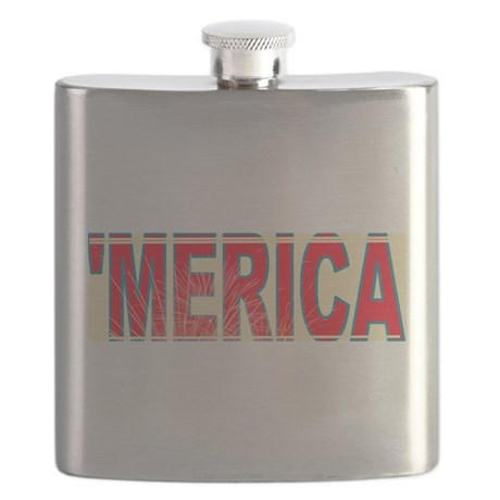 Vintage 'Merica Flask