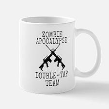 Zombie Apocalypse Double Tap Team Mug