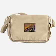 Happiness is My Ukulele Messenger Bag
