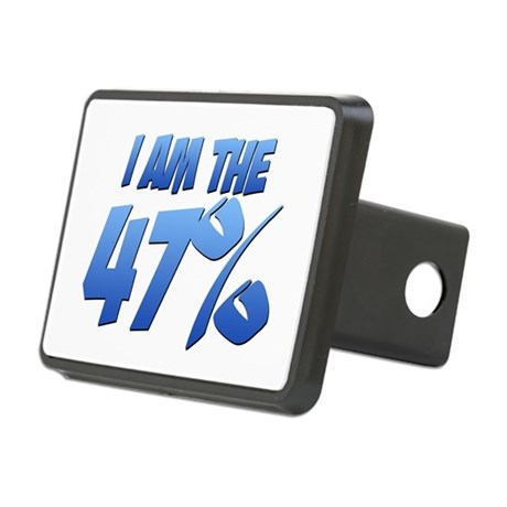 I Am the 47% Rectangular Hitch Cover