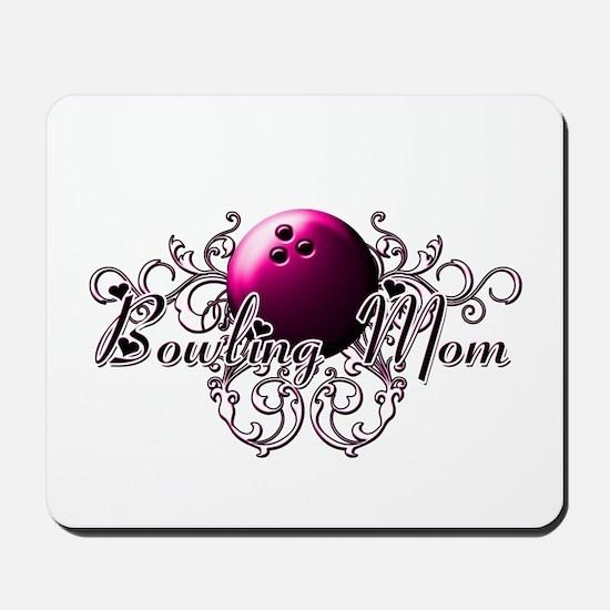 Bowling Mom (pink ball).png Mousepad