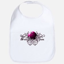 Bowling Mom (pink ball).png Bib