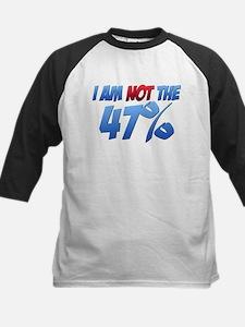 I Am NOT the 47% Kids Baseball Jersey