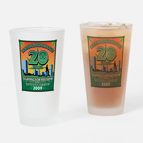 2009 Boston Freedom Rally Drinking Glass
