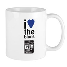 I Heart the Blues/KZUM2 Mug