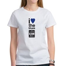 I Heart the Blues/KZUM2 Women's T-Shirt