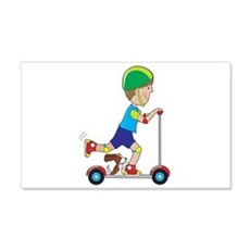 Scooter Boy Wall Decal