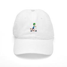 Scooter Boy Baseball Cap