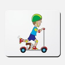 Scooter Boy Mousepad
