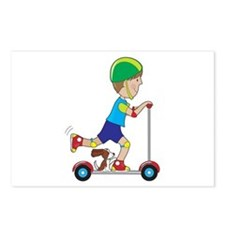 Scooter Boy Postcards (Package of 8)