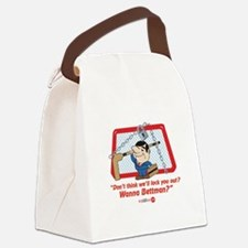 No Hockey Lockout Shirt 2 Canvas Lunch Bag