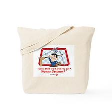 No Hockey Lockout Shirt 2 Tote Bag